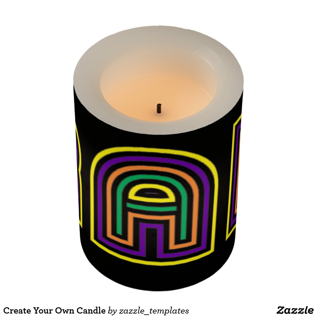 RAK Candle - front view