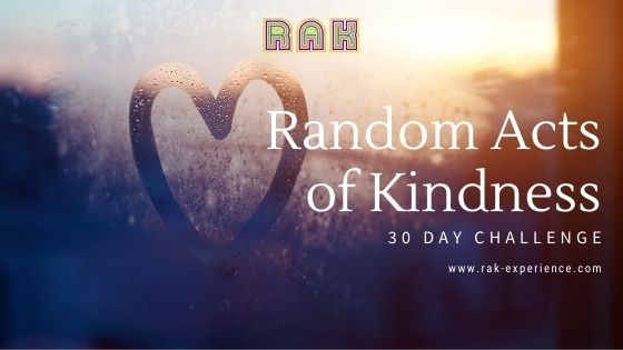 30 Day Challenge Random Acts of Kindness + Free Planner